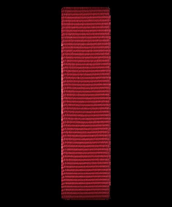 Rotes Nylon-Armband zum Überstreifen  large