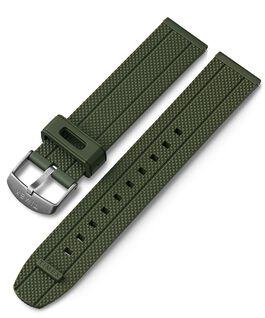 20 mm Silikonarmband mit Schnellverschluss Grün large