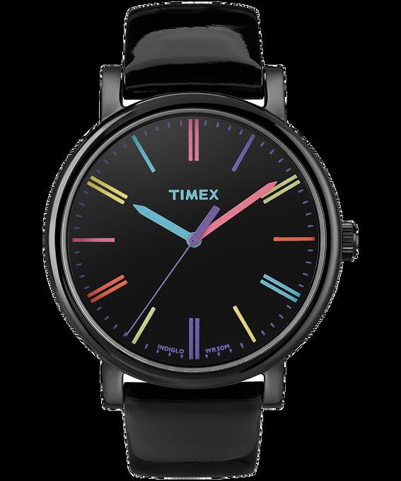 Originals 38mm Patent Leather Watch Black large