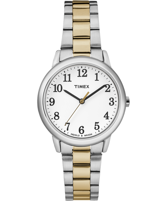 Easy Reader 30mm Stainless Steel Watch Two-Tone/White large