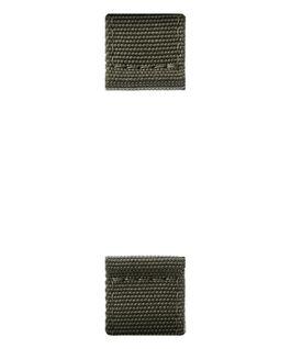 Olivegrünes, zweiteiliges Nylon-Armband  large
