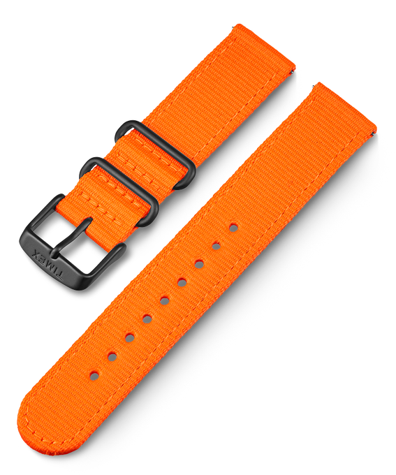 20mm iQ Nylon Strap Orange large