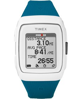 IRONMAN GPS 38mm Silicone Strap White/Gray large