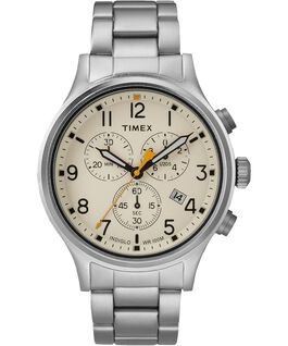 Allied Chronograph 42mm Stainless Steel Watch Silver-Tone/Natural large