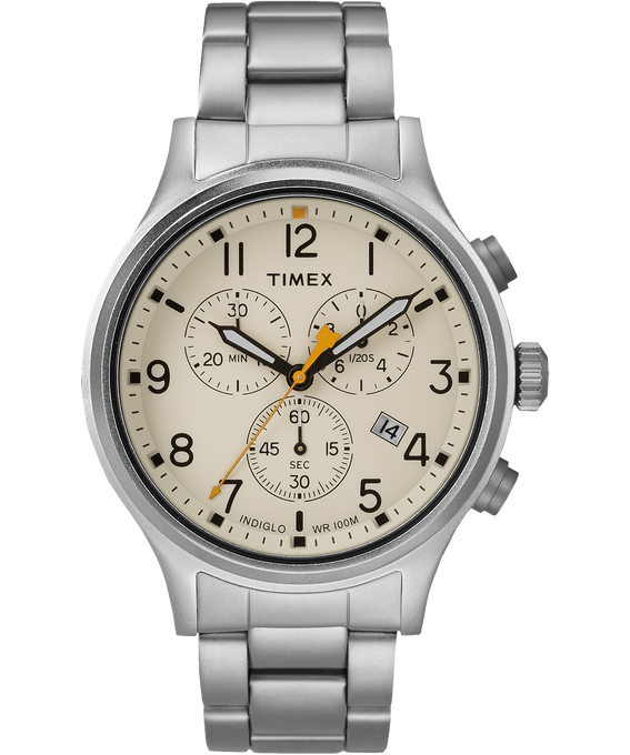 Allied Chronograph 42mm Stainless Steel Watch