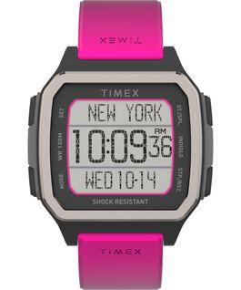 Command Urban 47mm Resin Strap Watch Orange/Pink large