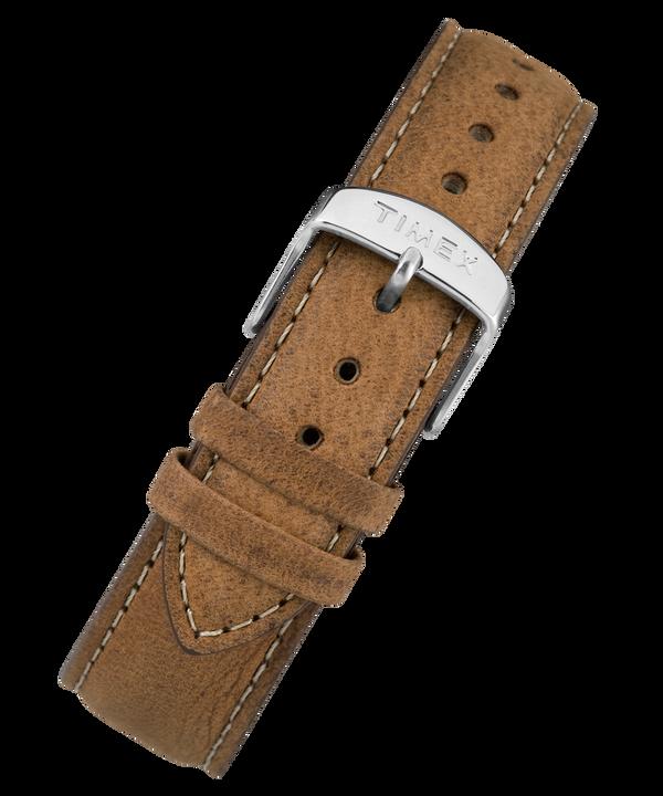 20 mm breites Lederarmband mit Schnellverschluss Brown large