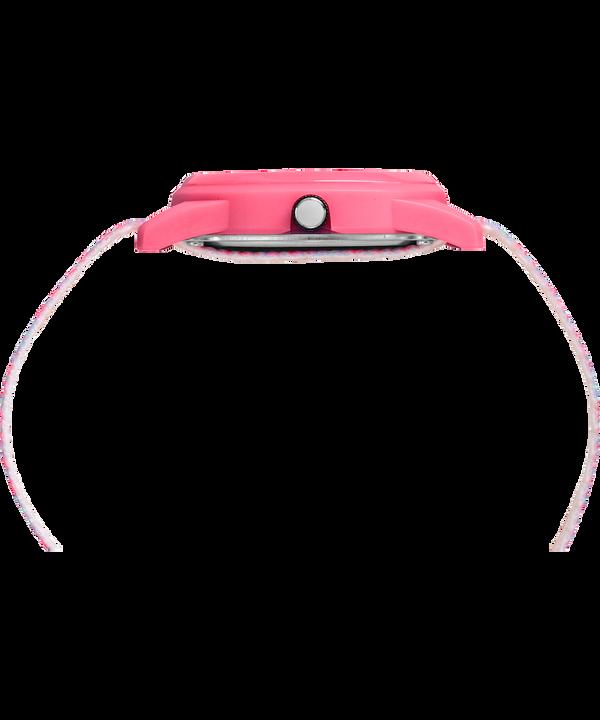 Kids Analog mit Nylonarmband, 32mm Pink/White large
