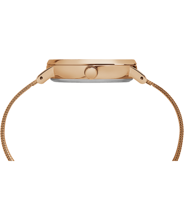 Fairfield mit Mesharmband, 37 mm Rose-Gold-Tone/Natural large