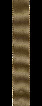 Durchzugarmband aus Ripsband im Militärstil